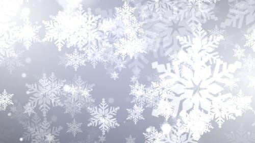 Joyful Christmas Snowflakes