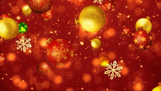 Thumbnail for Christmas Glitters Decorations 2