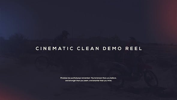 Thumbnail for Cinematic Demo Reel