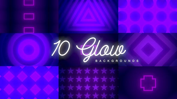 10 Glow Backgrounds