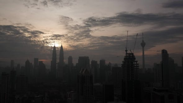Thumbnail for Panoramic View Of Constructed Modern City Kuala Lumpur, Malaysia