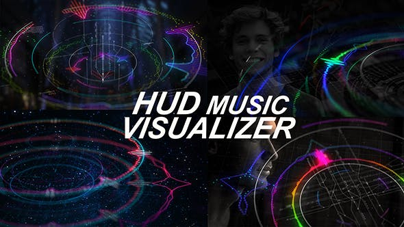Thumbnail for Visualiseur de musique HUD