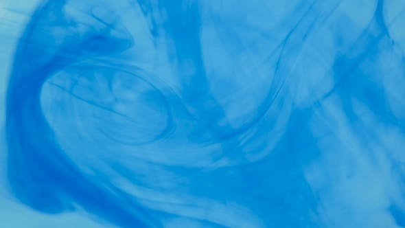 Thumbnail for Abstract Blue Color Liquid Backdrop