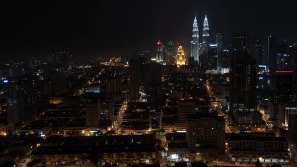Thumbnail for Night City Of Kuala Lumpur, Malaysia