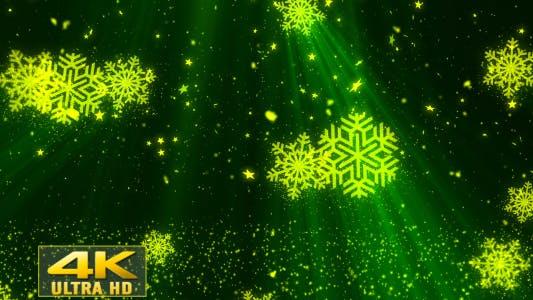 Thumbnail for Christmas SnowFlakes Glitters 1