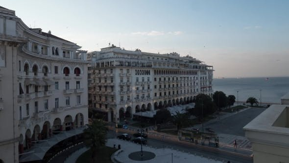 Thumbnail for City Centre In Thessaloniki, Greece