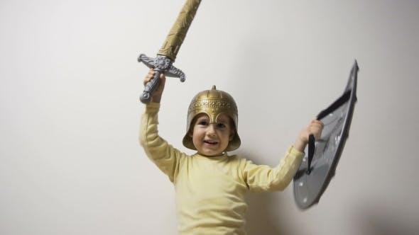 Thumbnail for Little Knight Having Fun