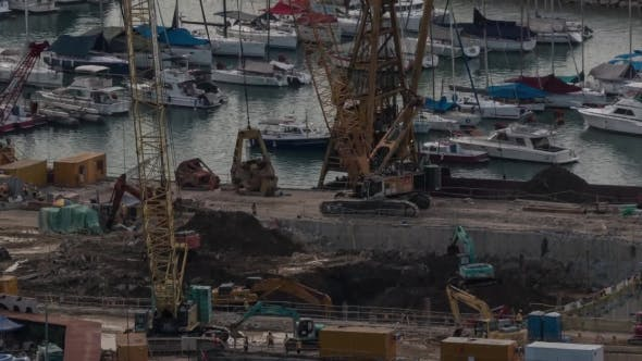 Thumbnail for Of Construction Works On The Waterside