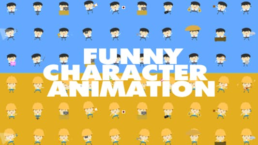 Thumbnail for Funny Character Animations