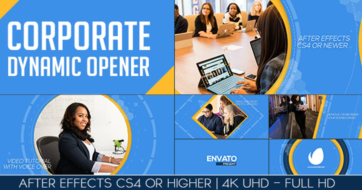 Corporate Dynamic Opener by ouss