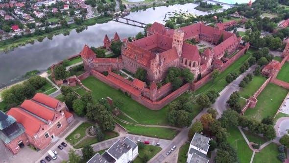 Thumbnail for Old Huge Castle On River