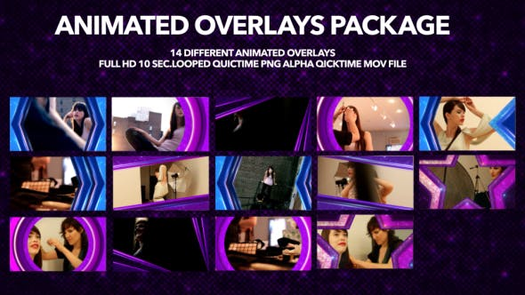 Animated Overlays Package