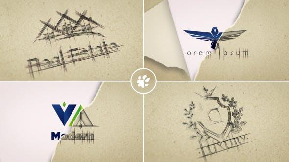 Thumbnail for Sketch Logo Reveal