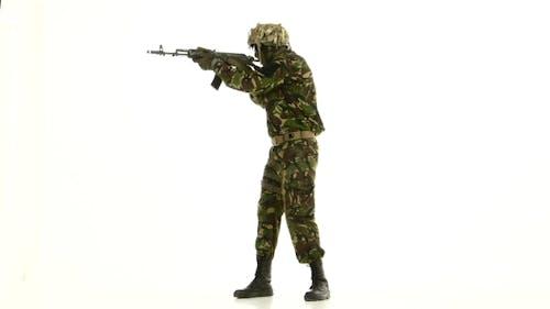 Soldat hat Ziel