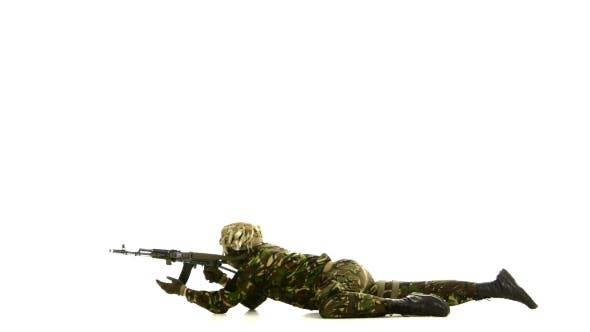 Thumbnail for Armed Man Lay On The Floor