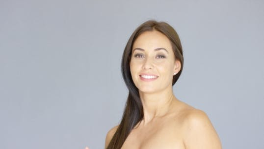 Thumbnail for Cute Single Bare Shouldered Young Adult Woman