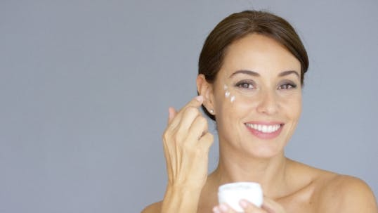 Thumbnail for Beauty Portrait Of a Smiling Young Brunette Woman