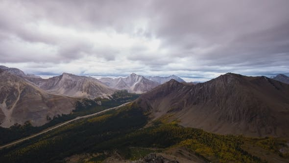Thumbnail for Fall Morning From The Peak Of Pokaterra Ridge In The Rockies