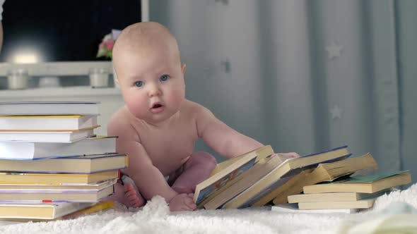 Thumbnail for Baby with the Books