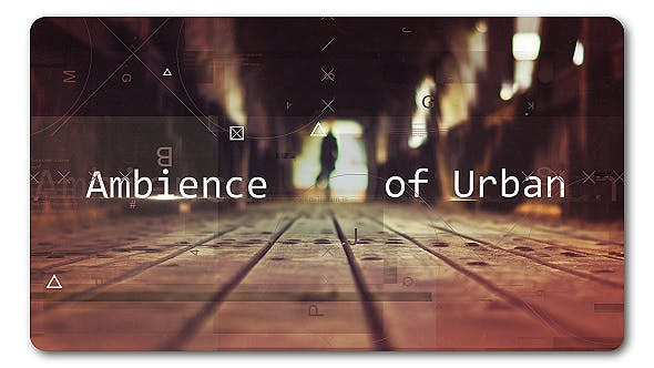 Thumbnail for Ambience Urban | Parallax Slideshow