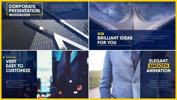 Thumbnail for Élégantes diapositives Entreprise
