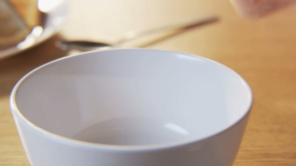 Thumbnail for Putting Little Muesli Into a Bowl