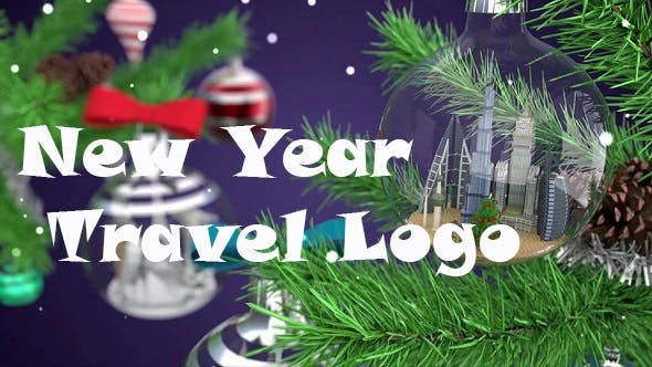 Thumbnail for New Year Travel Logo