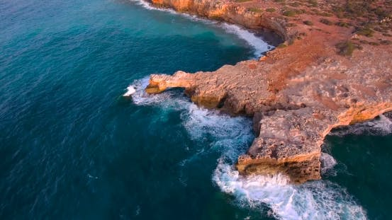 Thumbnail for Beautiful Seashore With Clifs At Sunset