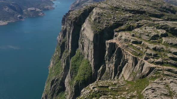 Cover Image for Pulpit Rock Preikestolen Beautiful Nature Norway