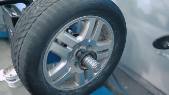 Thumbnail for Wheel Is Removed From The Tires