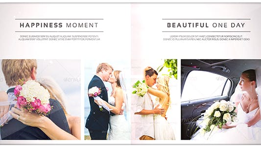 Cover Image for Romantic Wedding - Elegant Photo Album