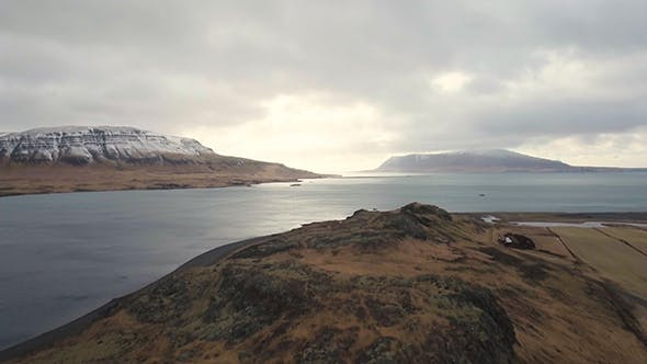 Thumbnail for Aerial View Of Iceland Landscape