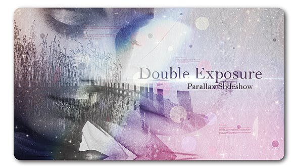 Cover Image for Double Exposure | Parallax Slideshow