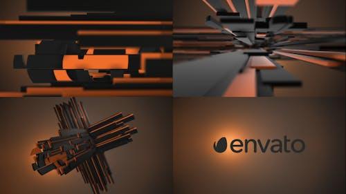 Plus Element 3D Logo Opener