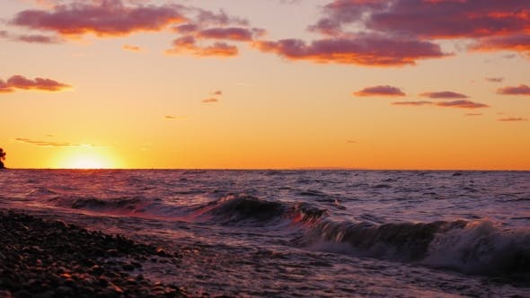 Thumbnail for Beautiful Sunset Over Lake Ontario