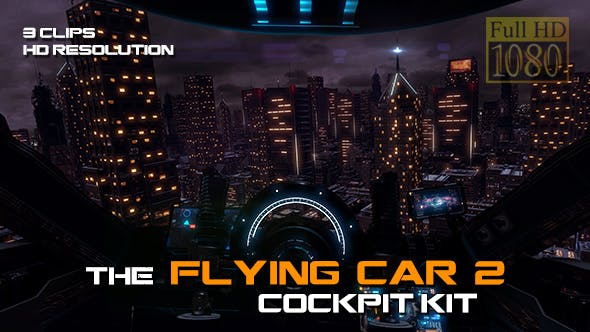 The Flying Car 2 - Cockpit Kit