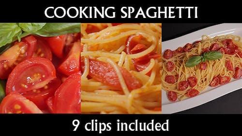Cooking Pasta Spaghetti