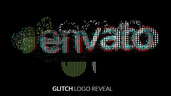Thumbnail for Fast Glitch Logo Reveal