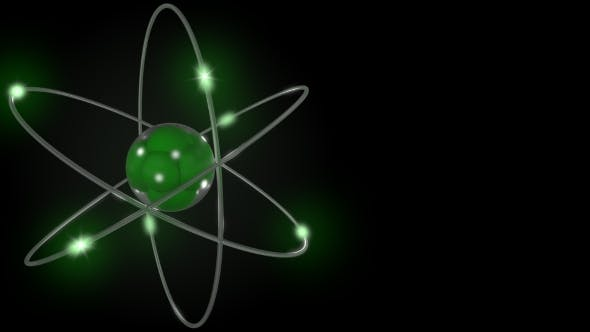 Cover Image for Green Stylized Atom And Electron Orbits