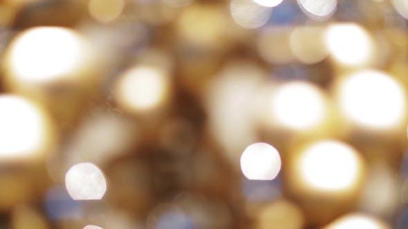 Thumbnail for Blurred Golden Christmas Lights Bokeh 7