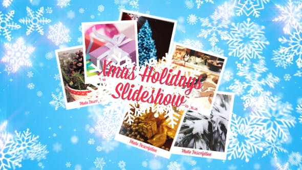 Thumbnail for Xmas Holidays Slideshow