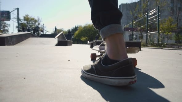 Thumbnail for Young Man Ride a Skateboard