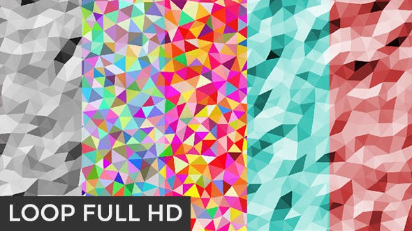 Thumbnail for Triangles Background Pack