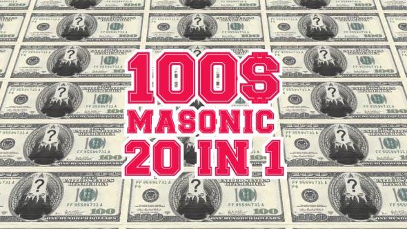 Masonic Dollars Pack 20 in 1