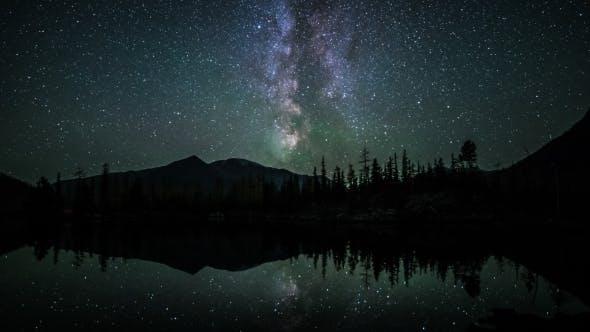 Thumbnail for Star  Of Milky Way At Night