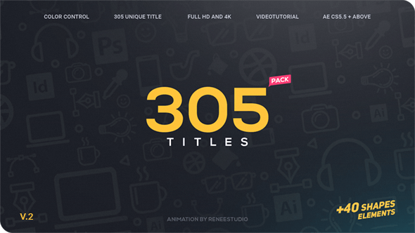 Thumbnail for 305 Titles Ultimate Pack