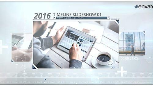 Timeline Image Slideshow