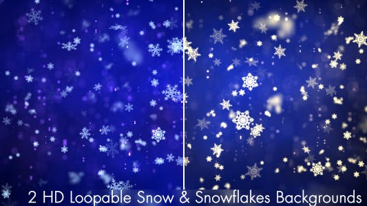 Thumbnail for Snow and Snowflakes 1