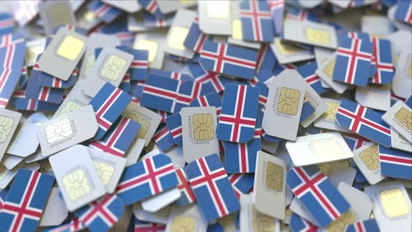 Thumbnail for SIM Cards with Flag of Iceland