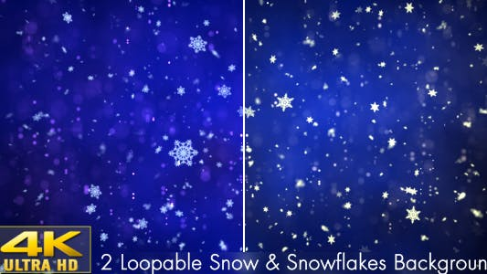 Thumbnail for Snow and Snowflakes 2